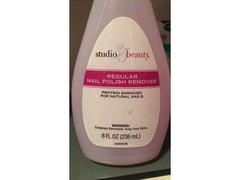 Studio 35 Beauty Regular Nail Polish Remover, 8 fl oz