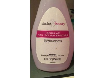 Studio 35 Beauty Regular Nail Polish Remover, 8 fl oz