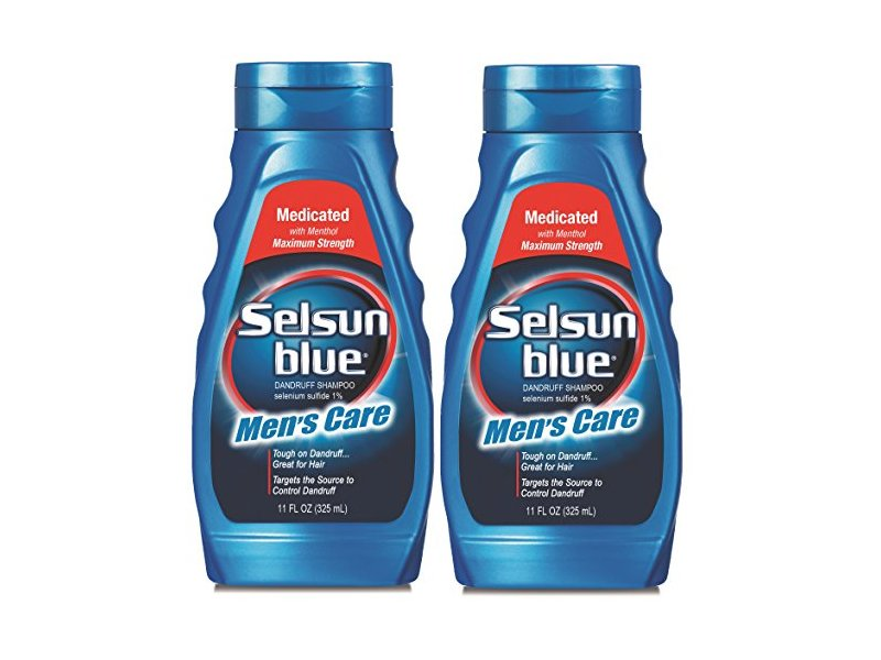 Selsun Blue Men's Care Dandruff Shampoo, 11 Ounce (Pack of 2)
