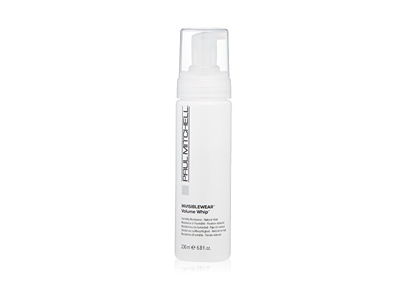 Paul Mitchell INVISIBLEWEAR Volume Whip Styling Mousse, 6.8 Fl Oz