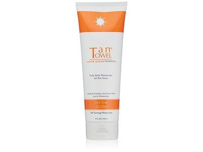 Tan Towel On the Glow Body Self Tanning Moisturizer, 8 fl oz