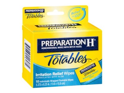 Preparation H Totables Irritation Relief Wipes - 10 Ct - Image 4