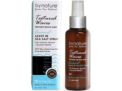 By Nature From New Zealand Leave in Sea Salt Spray Coconut, 4 fl oz