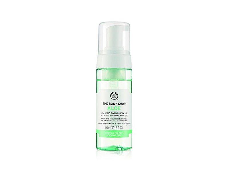 The Body Shop Calming Aloe Calming Foaming Wash, 5.0 fl oz