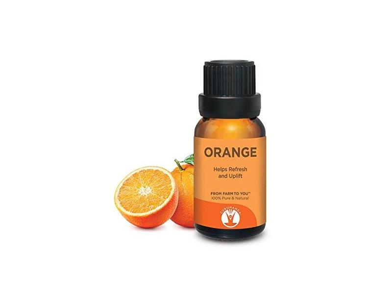 GuruNanda Orange Essential Oil, 15 ml