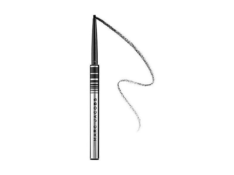 Marc Jacobs Beauty Fineliner Ultra-Skinny Gel Eye Crayon Eyeliner, Blacquer, 0.0038 oz/ .11g