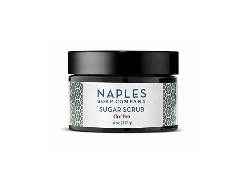 Naples Soap Sugar Scrub, Coffee, 4 oz