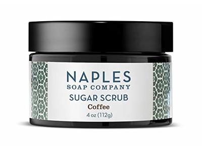 Naples Soap Sugar Scrub, Coffee, 4 oz