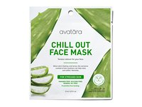 Avatara Chill Out Face Sheet Mask for Stressed Skin, 0.71 Fluid Ounce - Image 2