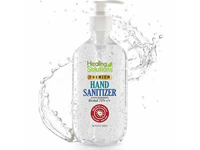 Healing Solutions Hand Sanitizer Gel, 16.9 oz