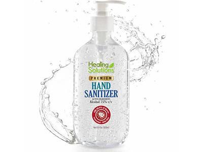 Healing Solutions Hand Sanitizer Gel, 16.9 oz