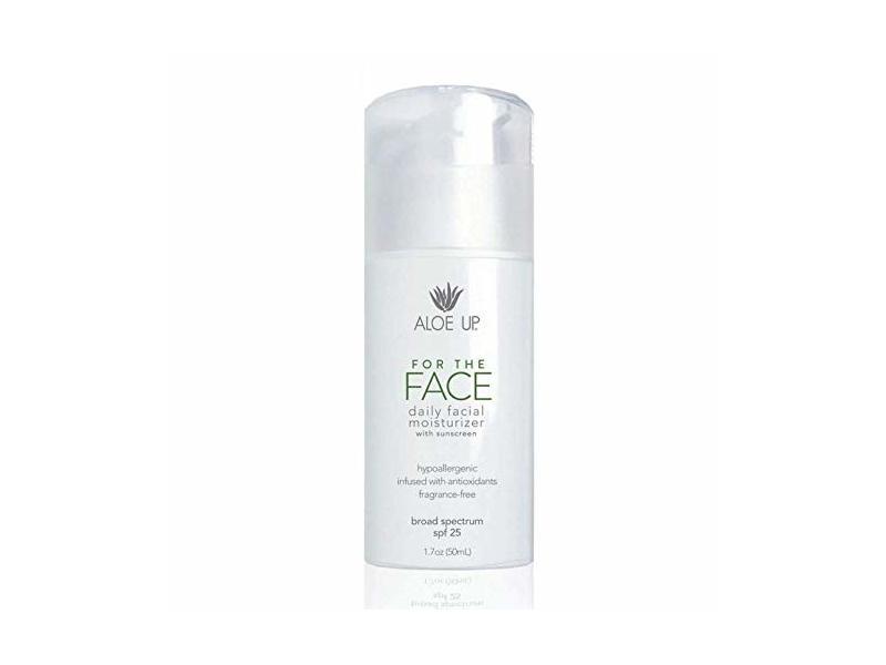 Aloe Up For The Face SPF 25 Daily Facial Moisturizer, 1.7 oz