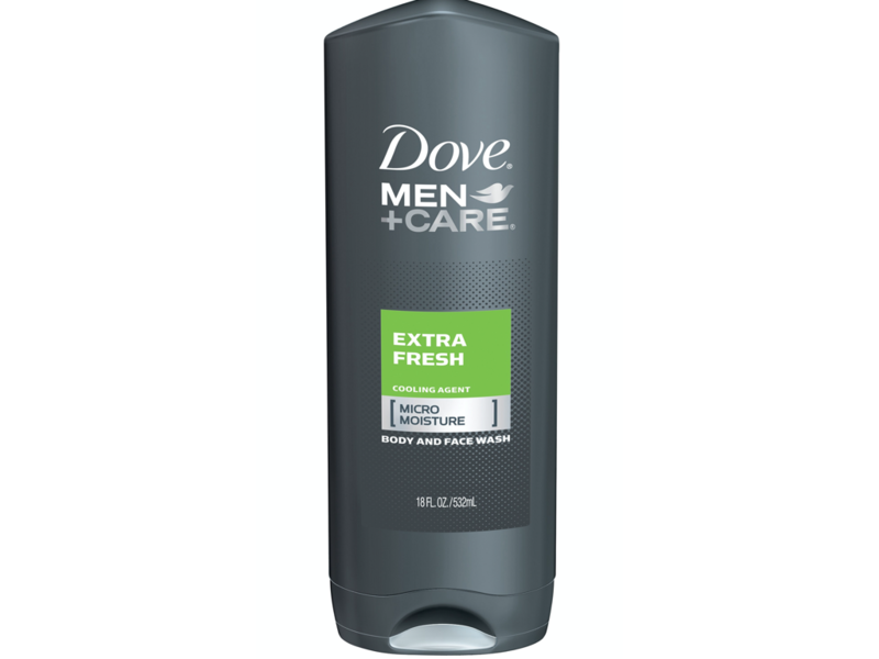 Dove Men + Care Extra Fresh Body + Face Wash, 400 ml