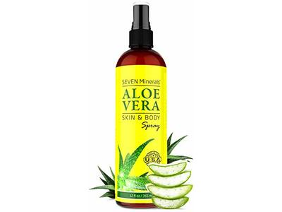 Organic Aloe Vera Spray for Body & Hair, 12 fl oz