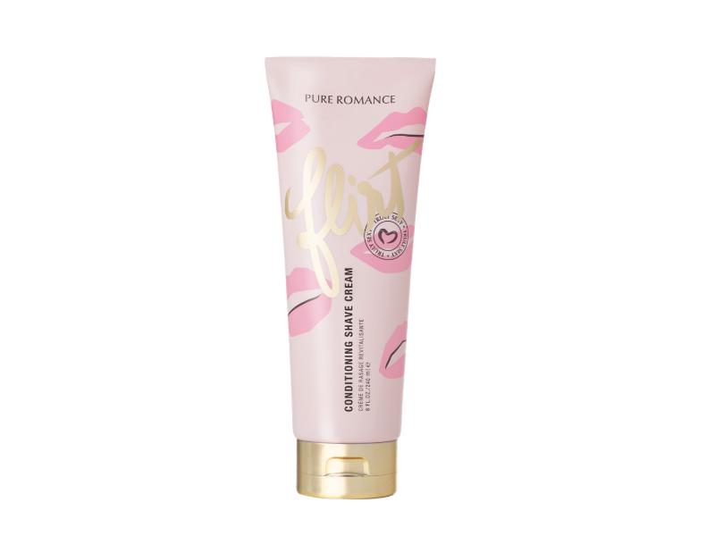 Pure Romance Flirt Conditioning Shave Cream, 8 fl oz