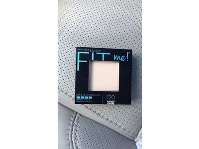 Maybelline New York Fit Me! Matte + Poreless Foundation Powder, Classic Ivory 120, 0.30 oz (Pack of 2) - Image 3