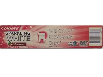 Colgate Anticavity Fluoride Toothpaste, Cinnamint, 4.0 fl oz - Image 6