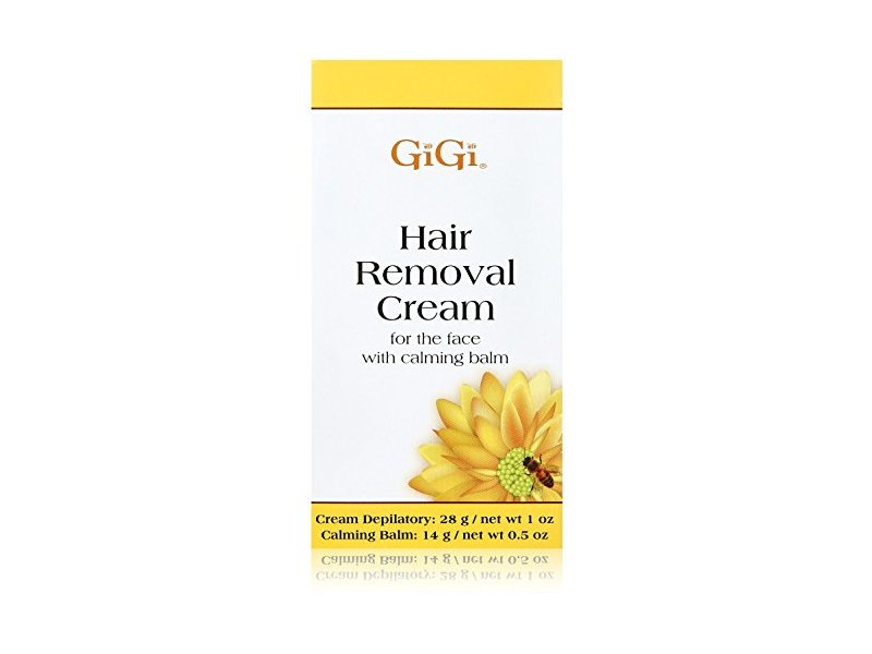 Gigi Hair Removal Cream For Face W Calming Balm 0 5 Oz