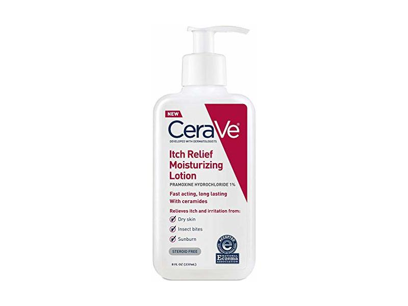 CeraVe Moisturizing Lotion for Itch Relief | 8 Ounce