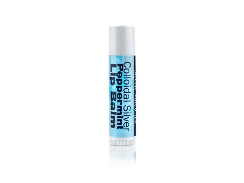 Colloidal Silver Peppermint Lip Balm, 0.15 oz