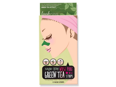 LookAtME Nose Pore Strips, Green Tea, Pack 2, 10 Ct