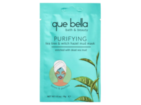 Que Bella Purifying Mud Mask, Tea Tree & Witch Hazel, 0.5 oz/15 g, Pack Of 6 - Image 2