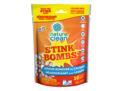 Nature Clean Stink Bombs, Fragrance Free, 10 ct