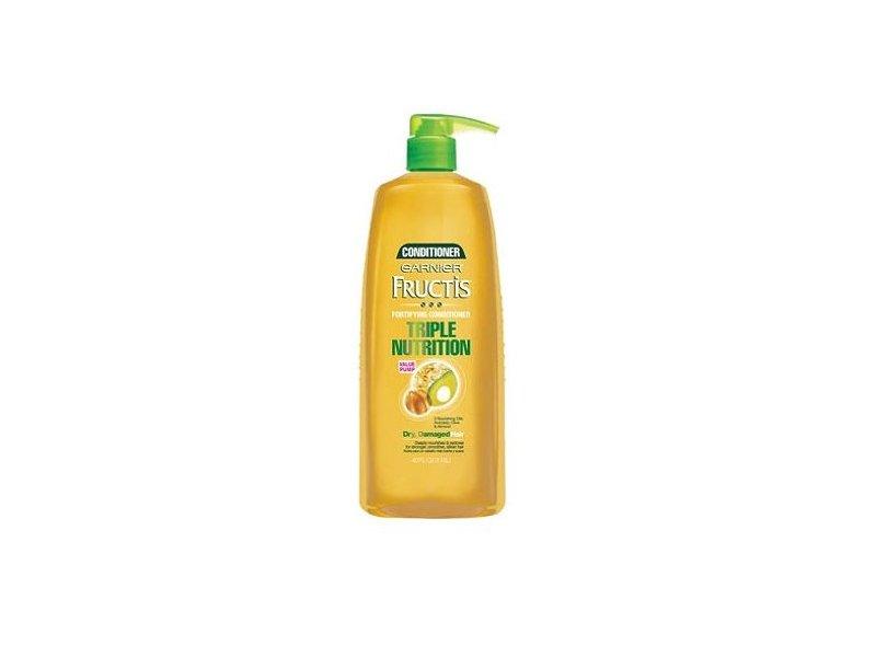Garnier Fructis Triple Nutrition Conditioner, Dry Damaged Hair, 40 fl oz