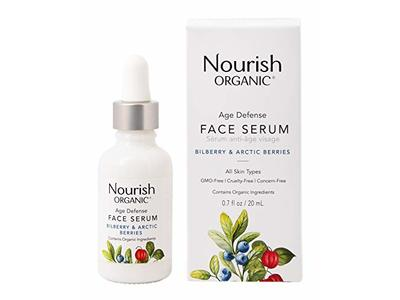 Nourish Organic Age Defense Face Serum, 0.7 Ounce