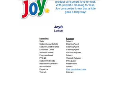 Joy Ultra Dishwashing Liquid, Lemon Scent, 30 fl oz - Image 6