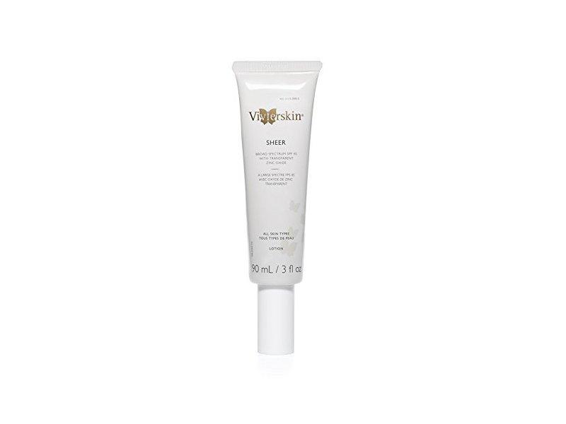 Vivier Skin Broad Spectrum SPF 45, Sheer, 3 Ounce