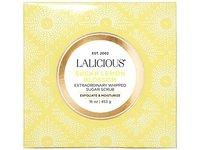 LALICIOUS Sugar Lemon Blossom Extraordinary Whipped Sugar Scrub - 16 Ounces - Image 3
