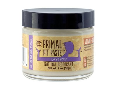 Primal Pit Paste Natural Deodorant, Lavender, 2 oz