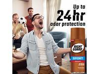 Right Guard Sport Original Deodorant Aerosol Spray, 2 Count - Image 7