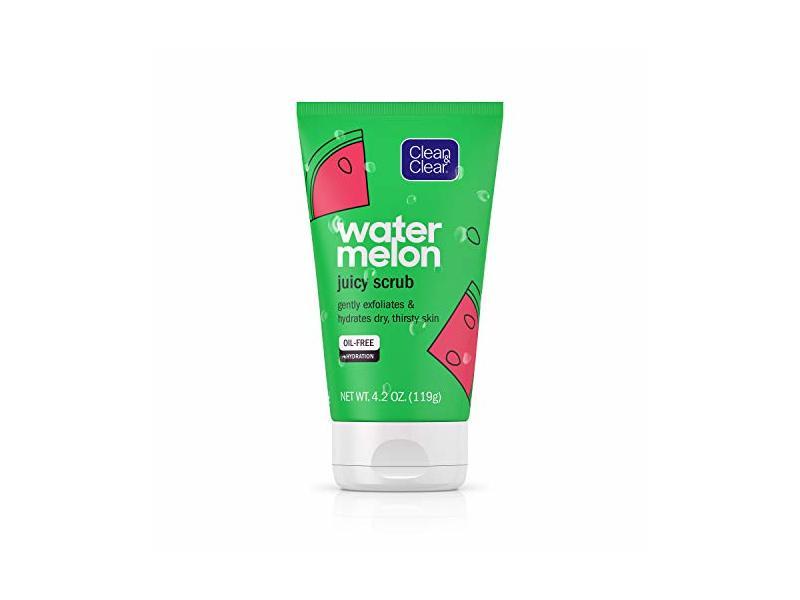 Clean & Clear Exfoliating Watermelon Scrub & Facial Cleanser