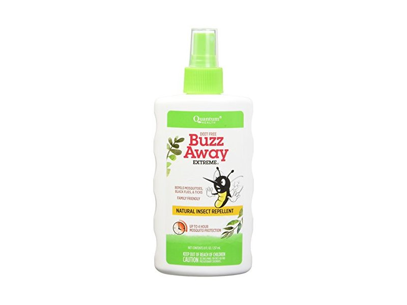 Quantum Research Buzz Away Extreme Spray, 8 fl oz