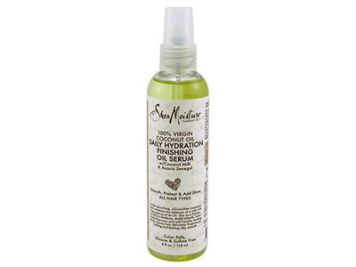 SheaMoisture 100% Virgin Coconut Oil Serum, 4 Ounce