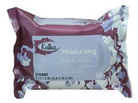 Kallea Moisturizing Makeup Remover Towelettes & Facial Wipes, 25 Count - Image 2