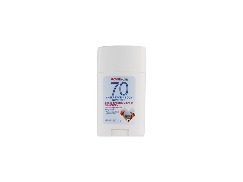 CVS Health SPF 70 Sheer Face & Body Sunstick