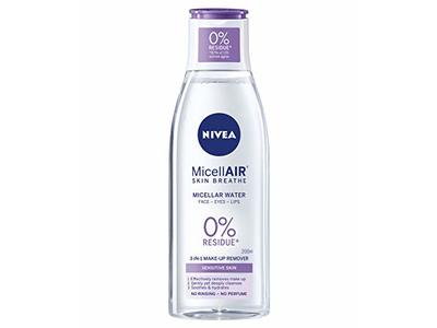 NIVEA Daily Essentials Sensitive 3-in-1 Micellar Cleansing Water, 200 ml
