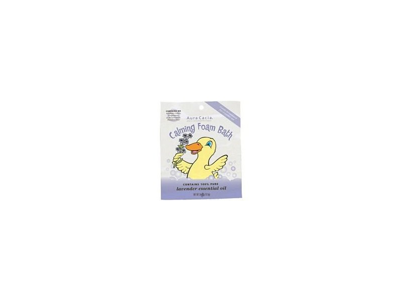 Aura Cacia Calming Foam Bath for Kids 2.5 oz ( Value Bulk Multi-pack)