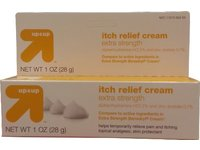 up&up Itch Relief Cream Extra Strength, Diphenhydramine 2% and Zinc Acetate 0.1%, 1 oz (28 g) - Image 2