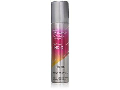 Parfums de Coeur Ink'd Fragrance Deodorant Body Spray for Women, 2.5 oz