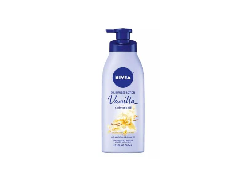 Nivea Oil Infused Lotion, Vanilla, 400 mL