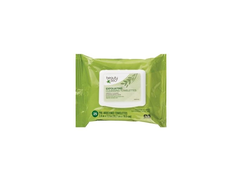 Beauty 360 Exfoliating Cleansing Wipes