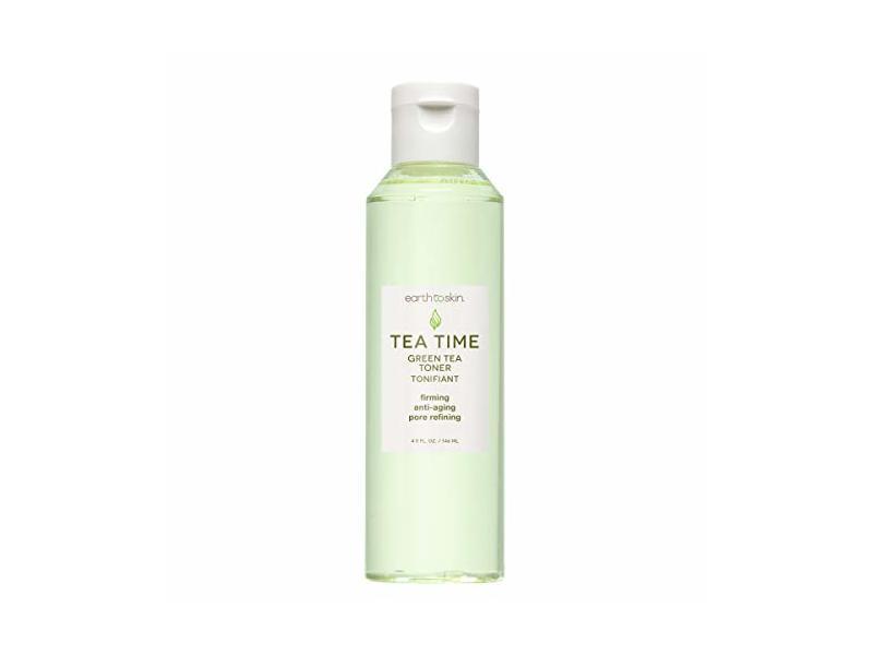 Earth to Skin Tea Time Green Tea Toner Tonifiant, 4.93 fl oz