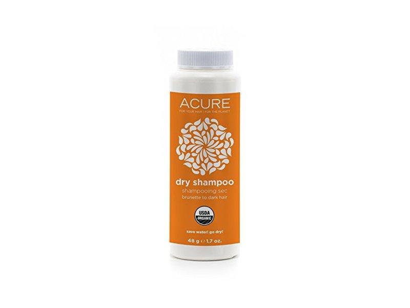 Acure Organics Dry Shampoo, Brunette to Dark Hair, 1.7 oz