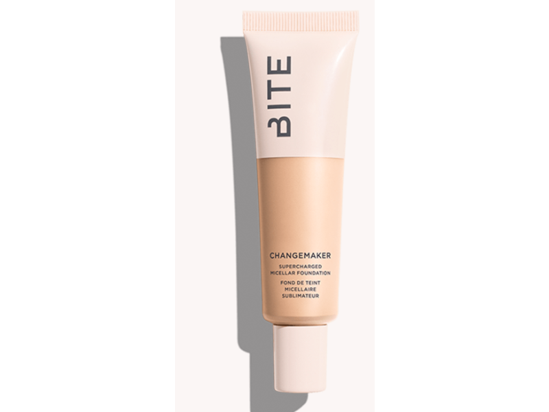 Bite Beauty Changemaker Supercharged Micellar Foundation, L10, 1 oz/30 mL