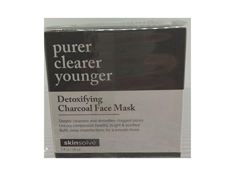 Skinsolve Detoxifying Charcoal Face Mask 2 fl oz