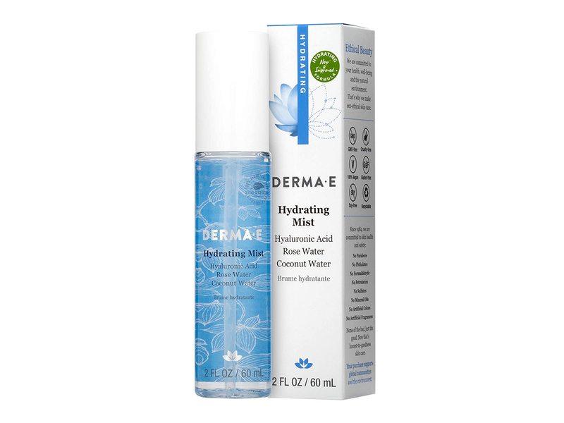 Derma-E Hydrating Mist With Hyaluronic Acid, 2 fl oz/60 ml